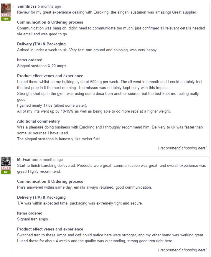 Euroking-Gear.com Reviews 2017