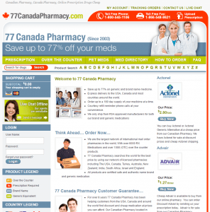 77 Canada Pharmacy Home