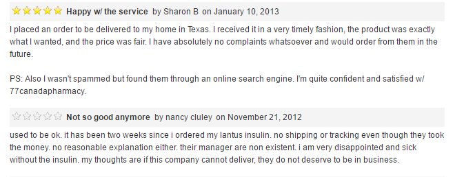 77Canadapharmacy Reviews