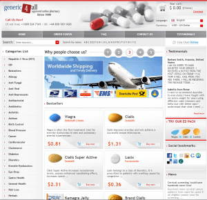 Home Page of Generic 4 All Global