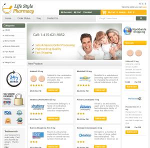 Lifestyle-Pharmacy.com Home