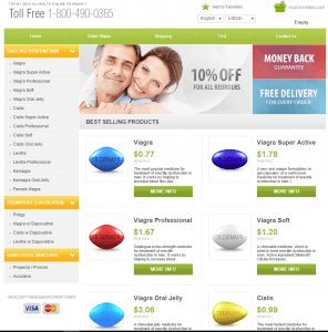 Front Page of PillsHouse.com