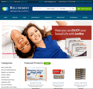 RxlChemist.com Home Page