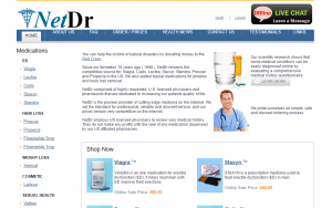Home Page of NetDr.com