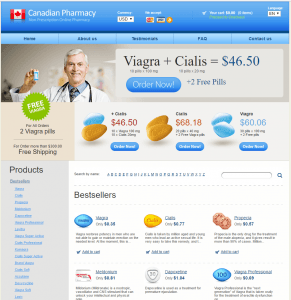 The Main Page of Canadian-Pills-Store.com