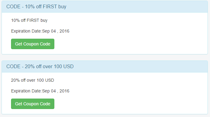 Coupon Codes for NetDr