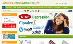 Online-Medikamente.com Design