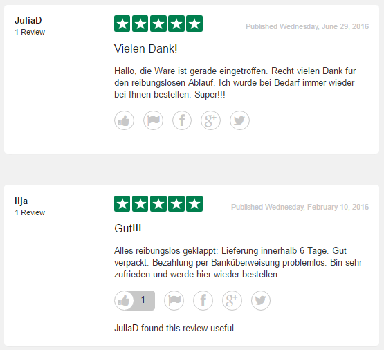 Online-Medikamente Reviews 2016