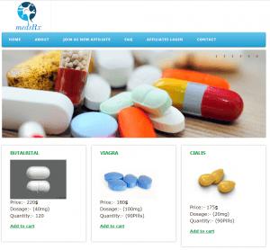 Meds-rx.com Design