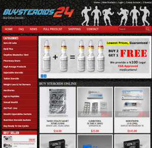 BuySteroids24.com Home