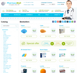 Front Page of Pharmapolis.net