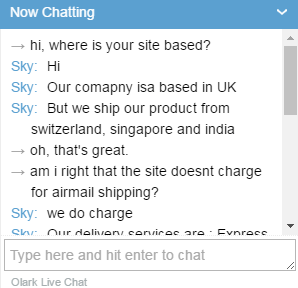 Chatting with Customer Service Representative of Discountmedsinc