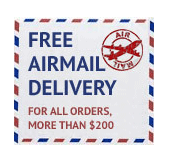 Free Airmail Delivery by Best Canadian Drugstore