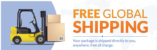 Free Airmail Delivery for All Orders Above on Online Xenical