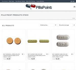Pillspoint.com Design