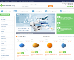 Home Page of Oxs-Pharmacy.com