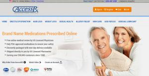 AccessRx.com Main Page