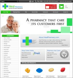 Healpharmacy.com Design