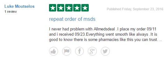 Allmedsdeal Reviews 2016