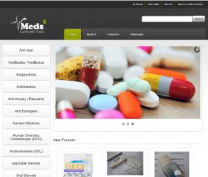 Home Page of Meds5.com