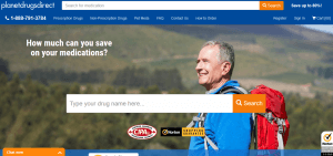 The Main Page of PlanetDrugsDirect.com