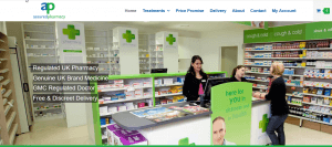 Assuredpharmacy.co.uk Home Page