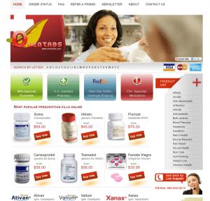 Overtabs.com Main Page