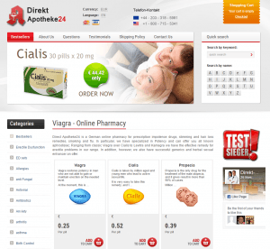 Direkt-apotheke24.com Main Page