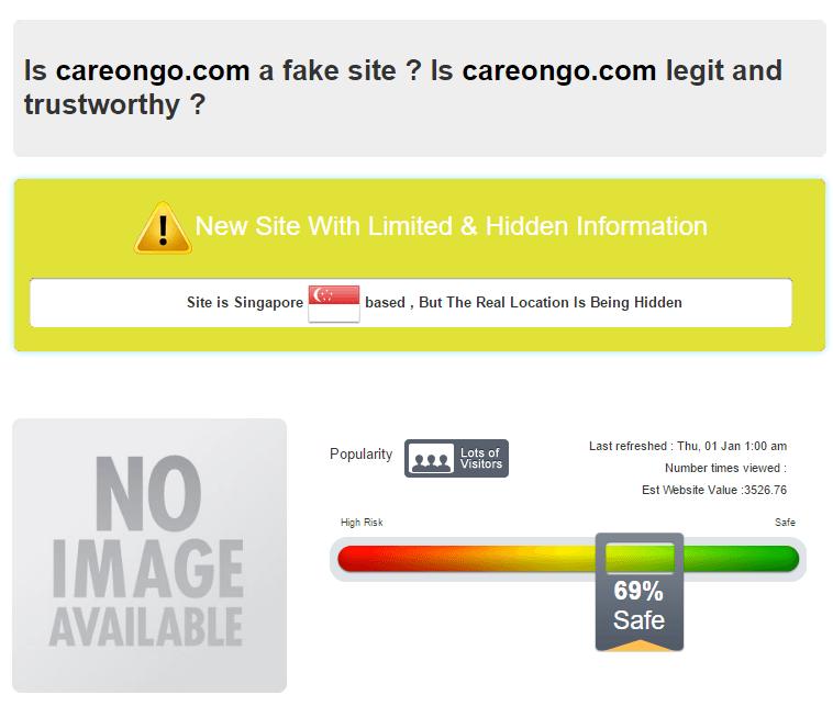 Is careongo.com a fake site?