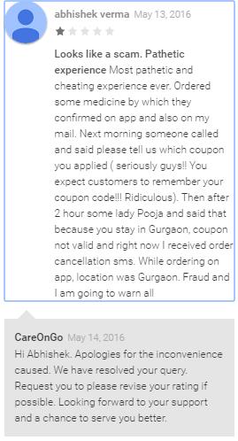 Careongo.com application reviews