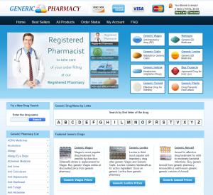 GenericWebPharmacy.com Design