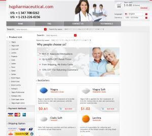 Hqpharmaceutical.com Design