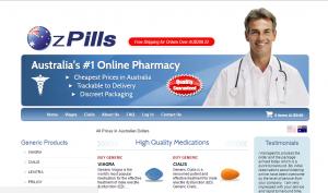 OzPills.com Home Page