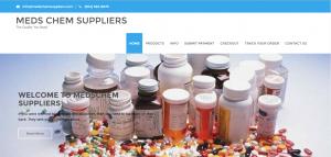 Home Page of MedsChemSuppliers.com