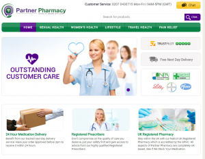 The Main Page of PartnerPharmacy.net
