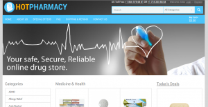Home Page of Hotpharmacy.net