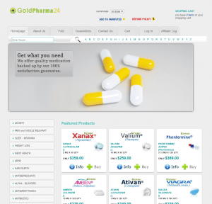 The Main Page of Goldpharma-24.com