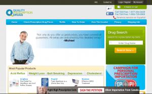 Home Page of QualityPrescriptionDrugs.com
