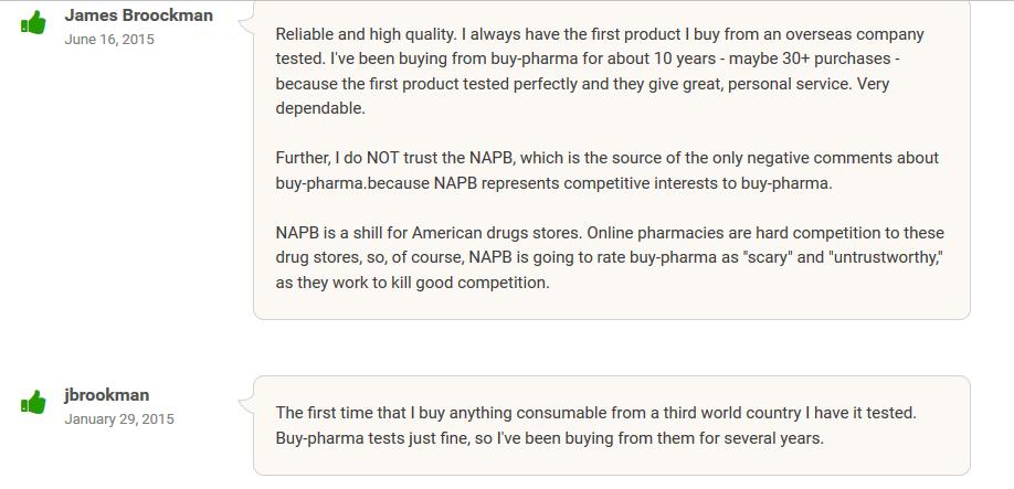 Buy-Pharma.co Reputation