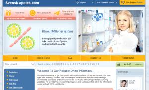 Svensk-apotek.com Home Page