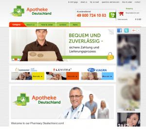 Apothekedeutschland.net Design