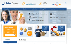 Front Page of Rxmeds24.net