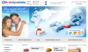 Meds-Apotheke.net Design