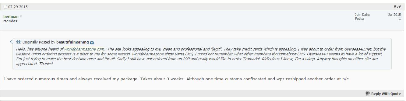 Worldpharmazone.net Reviews