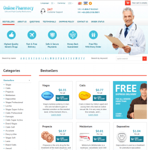 Home Page of Canadian-Meds-365.com