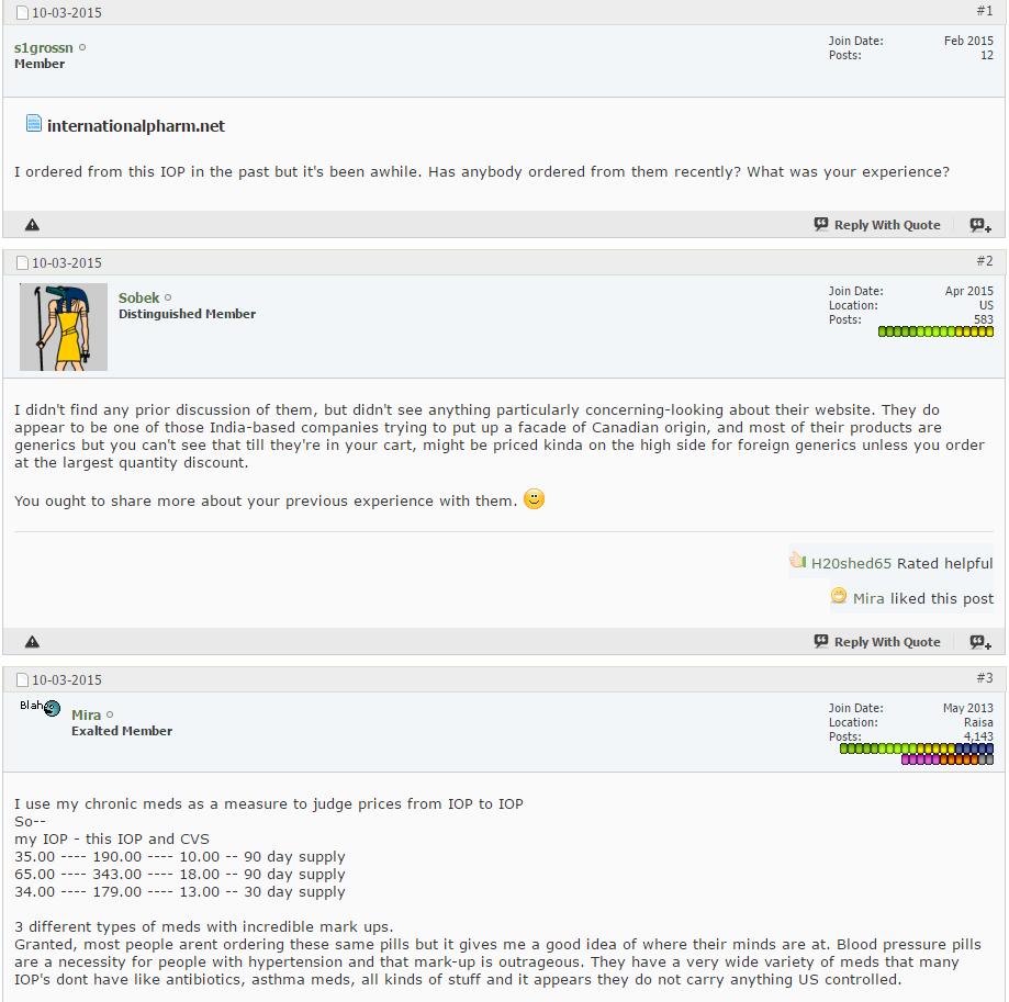 Internationalpharm.net Reviews