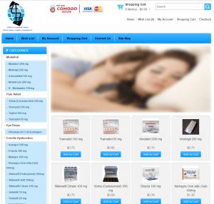 Worldpharmazone.net Design