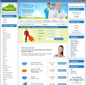 Main Page of Pills-Origin.com