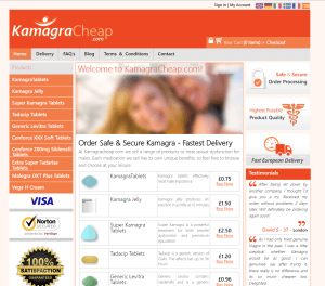 Kamagracheap.com Front