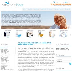 Affordablemedz.com Design